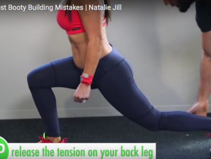 3 Booty Mistakes with Natalie Jill