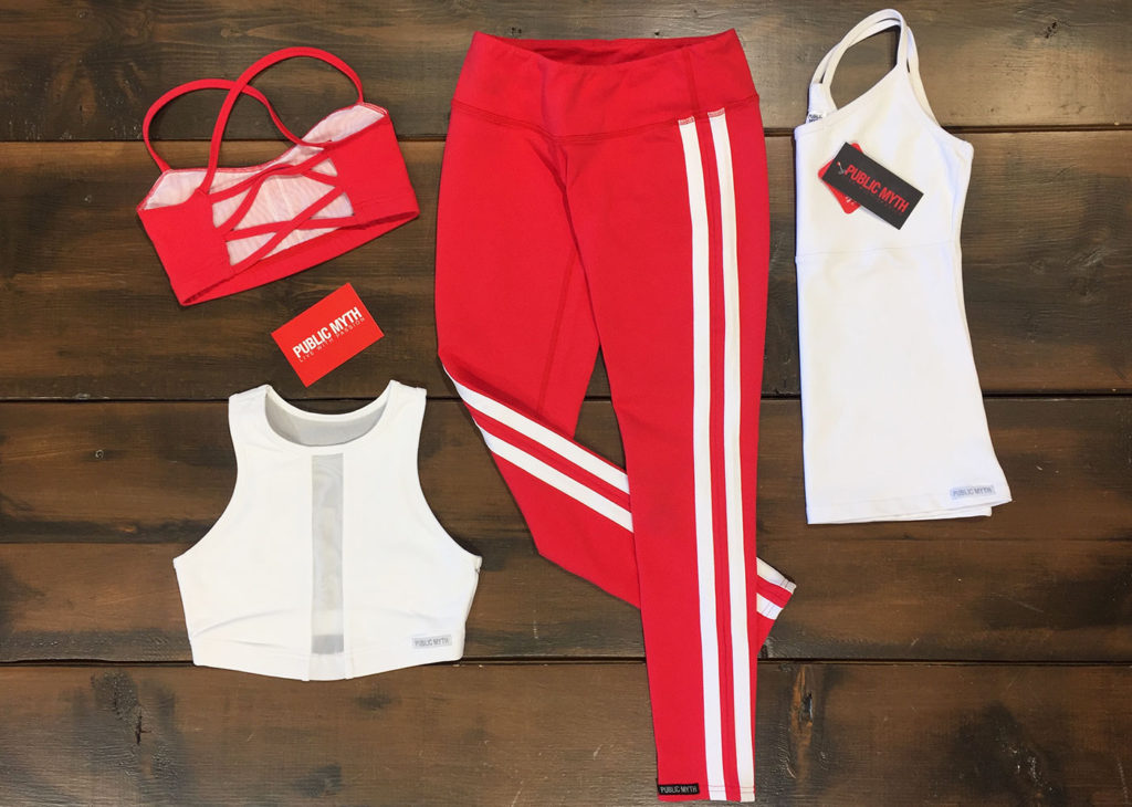 workout_outfit_red_white_stripes