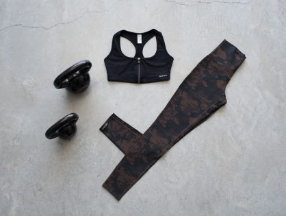 The Spartan Legging: For Your Toughest Sweat Sessions