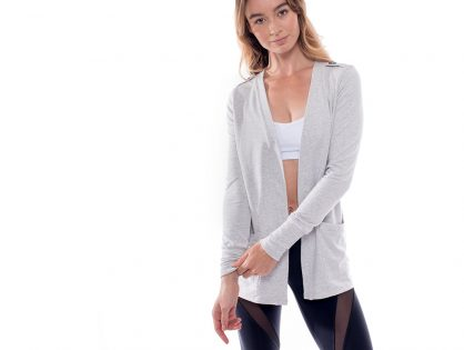 Cozy Up in the Bamboo Cardigan!