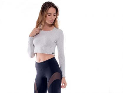 Introducing: The Bamboo Long Sleeve Crop