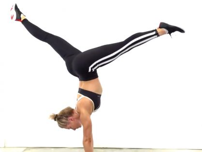 Want to know how to do a handstand? Here's a step by step guide on how to master your handstands with Monique Lisek.