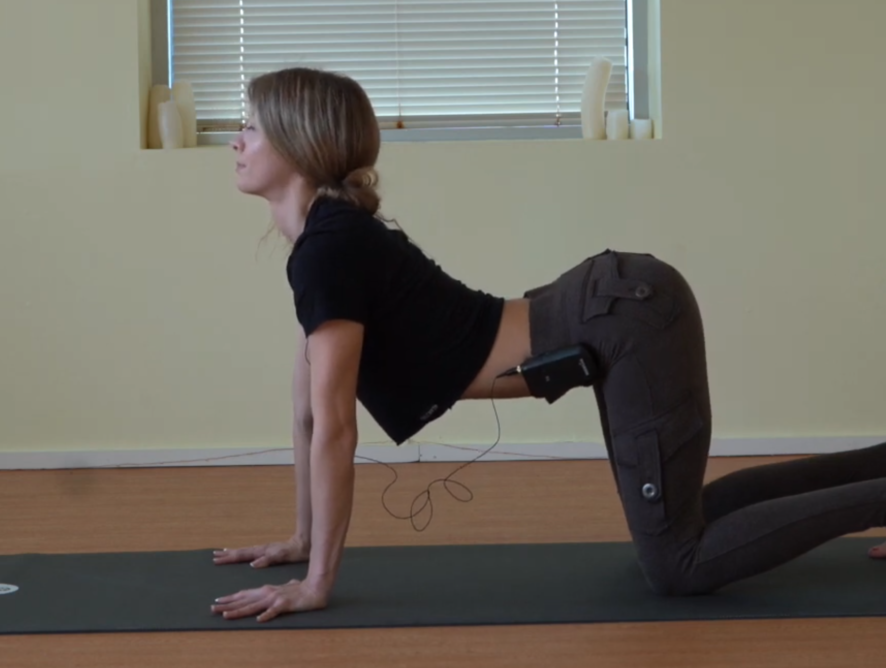 Odette Hughes Video: Lower back pain remedy with yoga