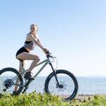 High Rise Bamboo Shorts: Biker and Booty!